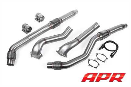 Apr Cast Downpipe Exhaust System For The 40 Tfsi