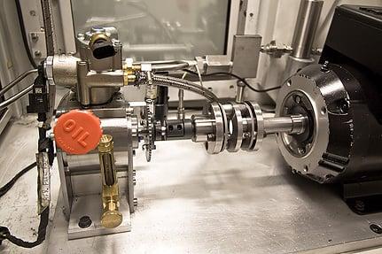 Pump test machine