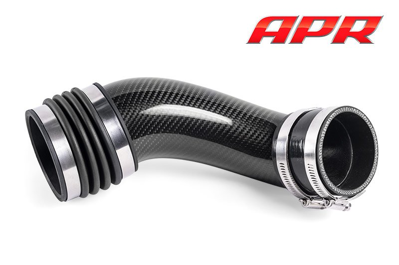 Apr presents the carbon fiber turbo inlet pipe and coolant