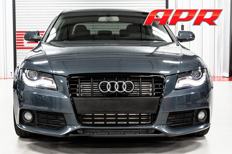 Intercooler B on Audi A4 Cooling System