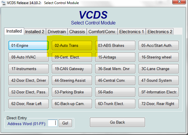 APR - Disable Auto Upshift on ZF 8-Speed Tiptronic Transmissions