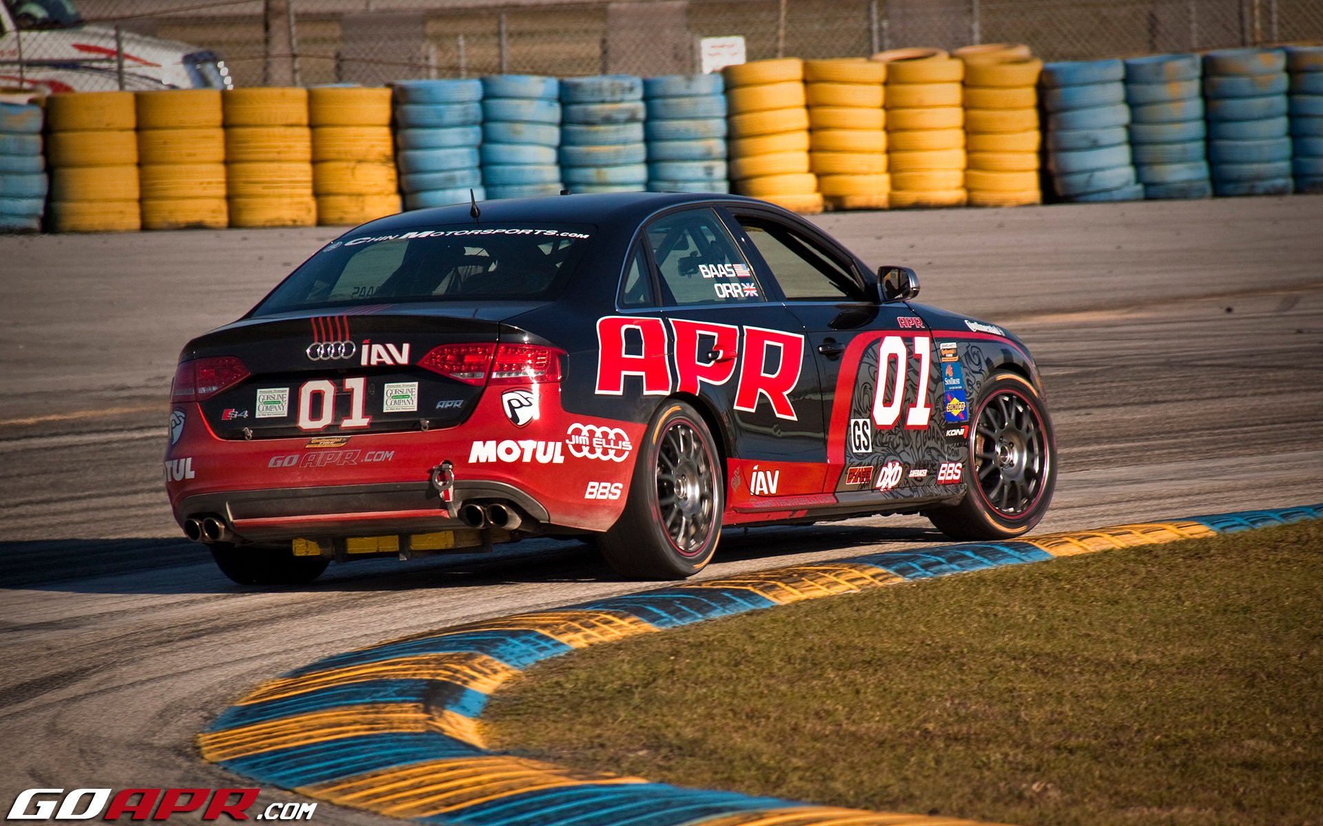 Orr to Drive Audi S4