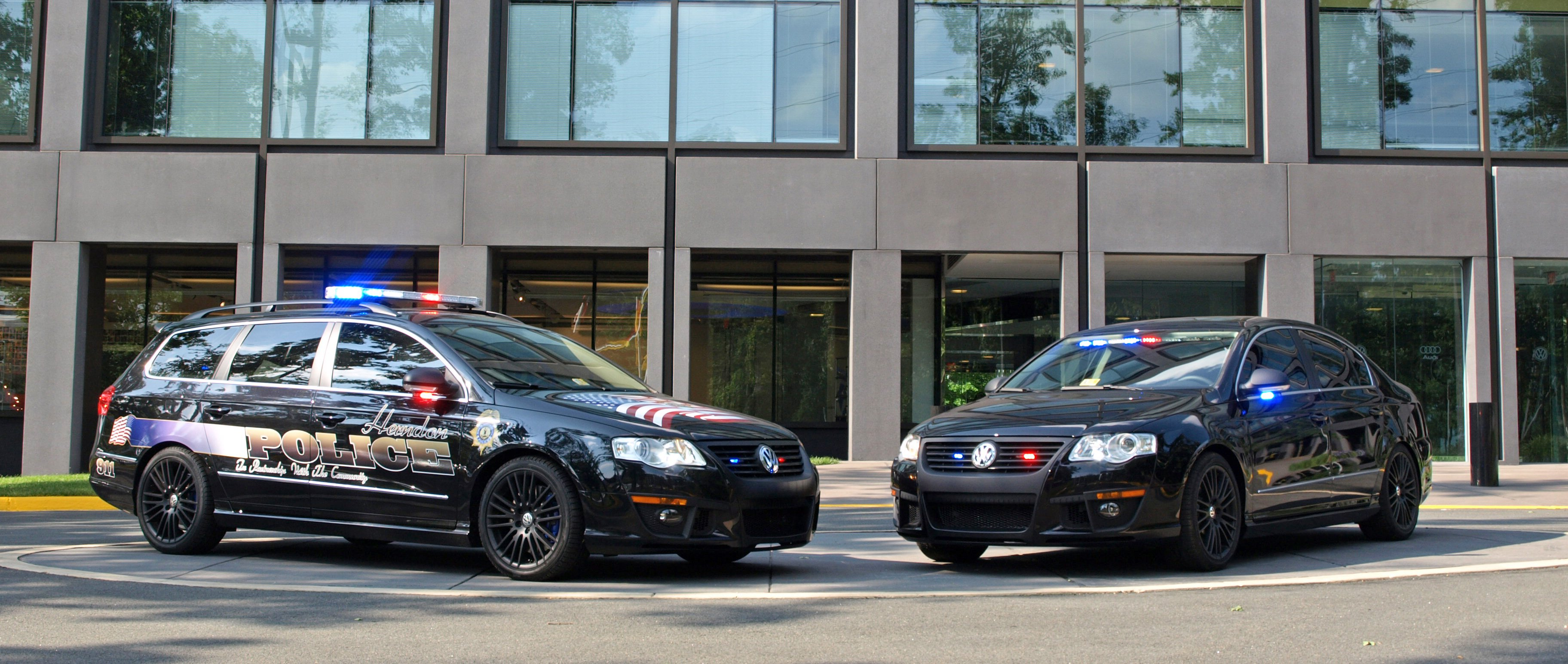 Volkswagen Provides Apr Tuned Police Cars To Local Police