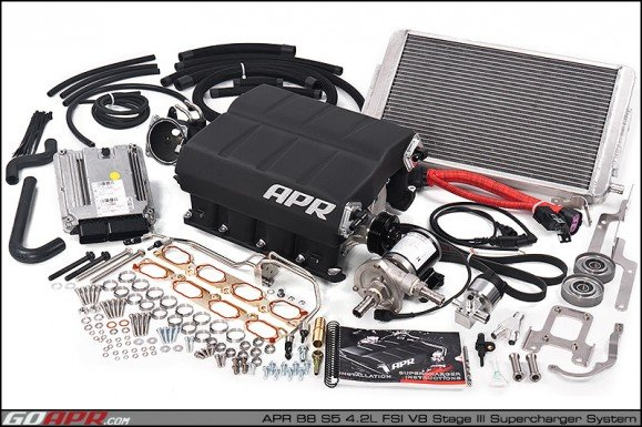 Apr Presents  B8 S5 4 2l Fsi V8 Stage Iii Supercharger System