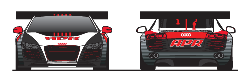 APR Motorsport R8 LMS Front and Back