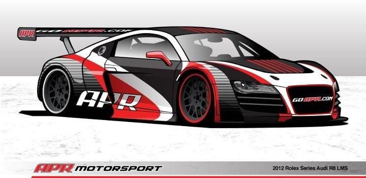 Apr Motorsport Presents The Audi R8 Lms