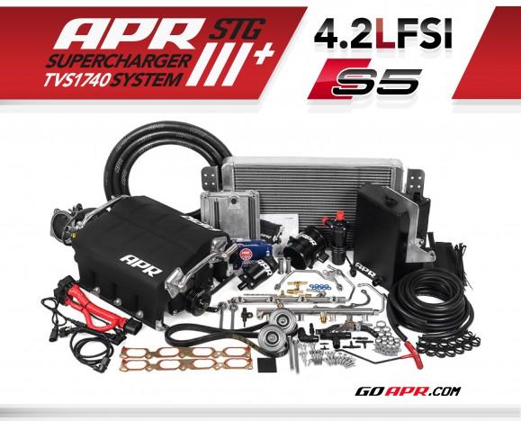 APR Presents the B8 S5 4 2L FSI V8 Stage III+ TVS1740