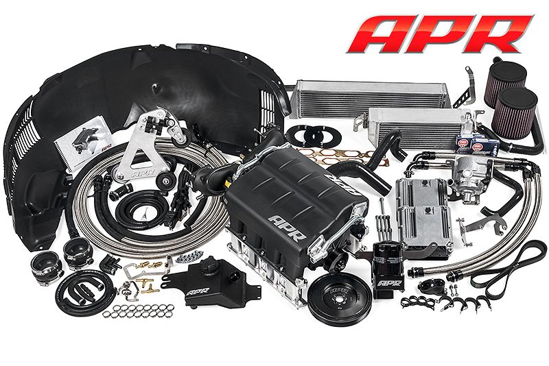 apr r8 stage iii supercharger system now r tronic compatible. Black Bedroom Furniture Sets. Home Design Ideas