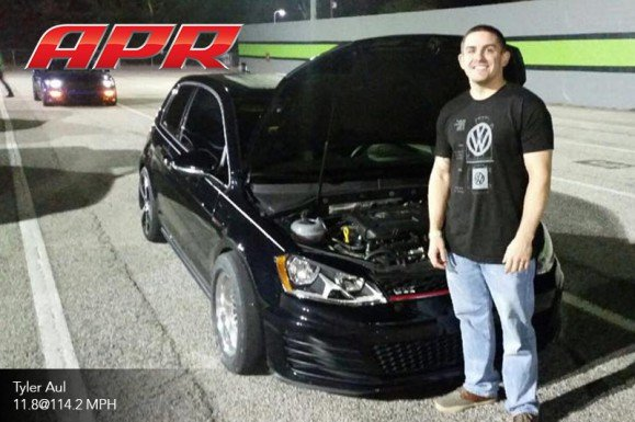 APR Customer Sets New MK7 GTI Stock Turbo Quarter Mile Record: 11 8