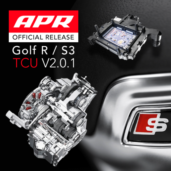 APR Presents a Free Update to the MK7 Golf R / S3 DQ250 DSG/S Tronic