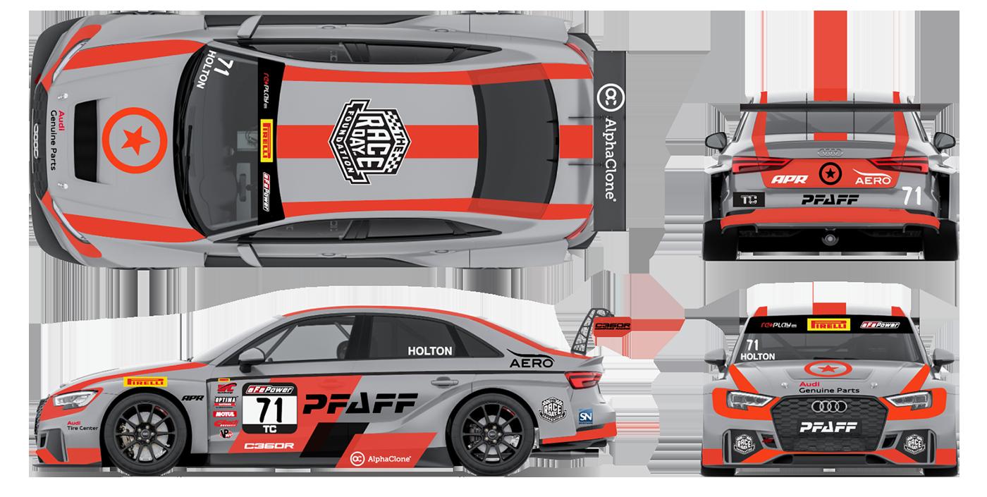 C360r Returns To Pirelli World Challenge With Pfaff Audi