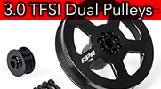 APR Presents the 3.0 TFSI Dual Pulley Upgrade!