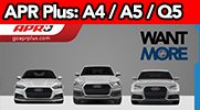 APR Plus Now Available for the A4, A5, Q5 and Allroad!