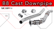 APR Presents the B8/B8.5 A4/A5/Q5 Cast Downpipe Exhaust System