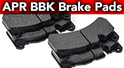 New Advanced APR Brake Pads for APR Big Brake Kits!