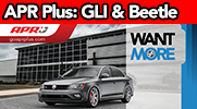 APR Plus Now Available for the Jetta GLI and Beetle 2.0T!